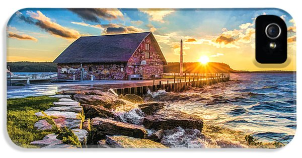 Historic Anderson Dock In Ephraim Door County IPhone 5s Case by Christopher Arndt