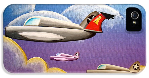 Airplane iPhone 5s Case - Hold On Tight by Cindy Thornton