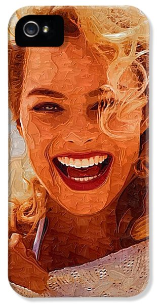 Hollywood Star Margot Robbie IPhone 5s Case by Best Actors