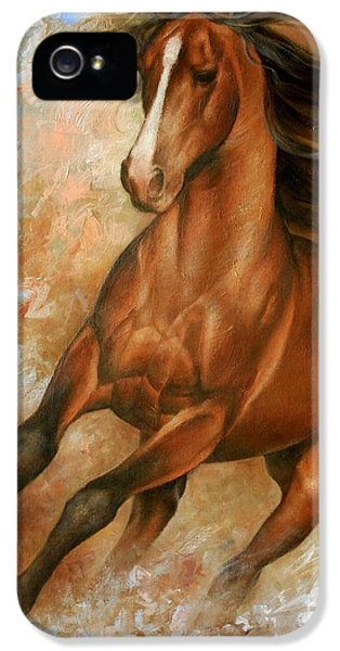 Animals iPhone 5s Case - Horse1 by Arthur Braginsky