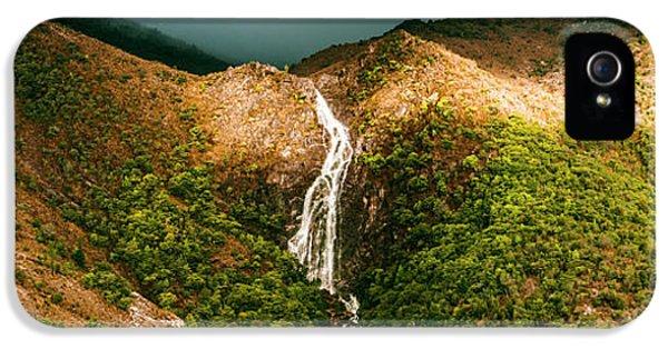 Horsetail Falls In Queenstown Tasmania IPhone 5s Case