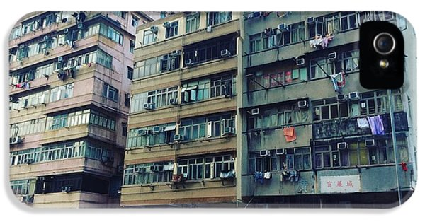 Houses Of Kowloon IPhone 5s Case by Florian Wentsch
