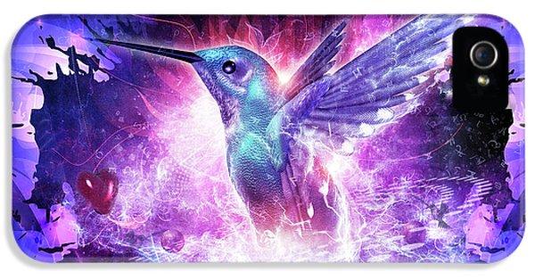 Hummingbird Love IPhone 5s Case