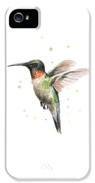 Hummingbird IPhone 5s Case by Olga Shvartsur