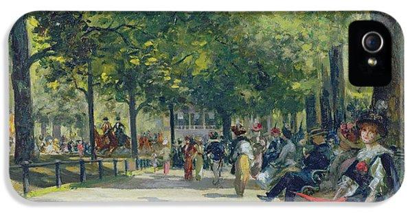 Hyde Park - London  IPhone 5s Case by Count Girolamo Pieri Nerli