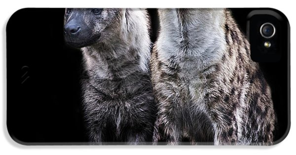 Griffon iPhone 5s Case - Hyena Lookout by Martin Newman