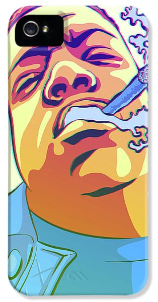 Biggie iPhone 5s Case - Hypnotized by Miggs The Artist