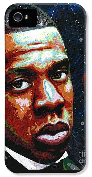 I Am Jay Z IPhone 5s Case by Maria Arango