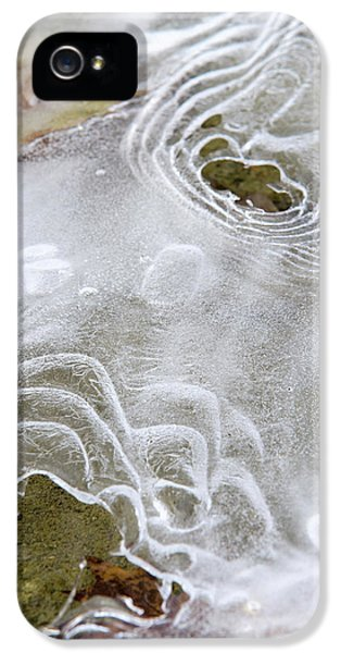 IPhone 5s Case featuring the photograph Ice Abstract by Christina Rollo