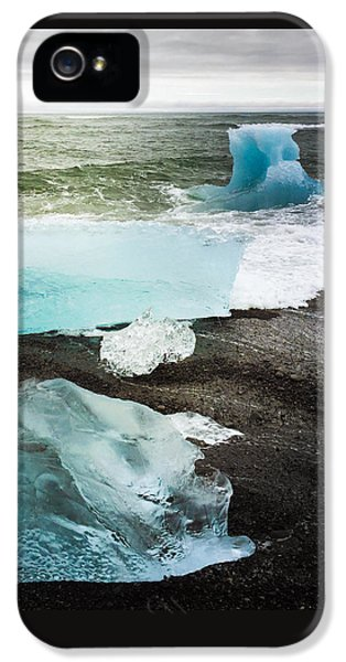 Cool iPhone 5s Case - Iceberg Pieces Jokulsarlon Iceland by Matthias Hauser