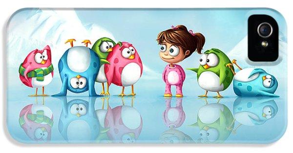 Im A Penguin Too IPhone 5s Case by Tooshtoosh