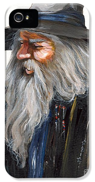 Impressionist Wizard IPhone 5s Case by J W Baker