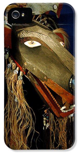 Indian Animal Mask IPhone 5s Case by LeeAnn McLaneGoetz McLaneGoetzStudioLLCcom
