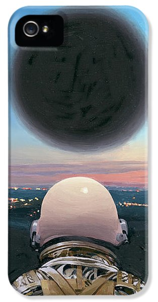 IPhone 5s Case featuring the painting Into The Void by Scott Listfield