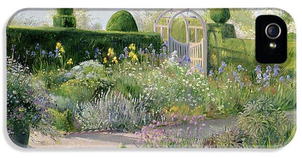 Irises In The Herb Garden IPhone 5s Case