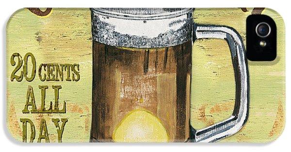 Beer iPhone 5s Case - Irish Pub by Debbie DeWitt