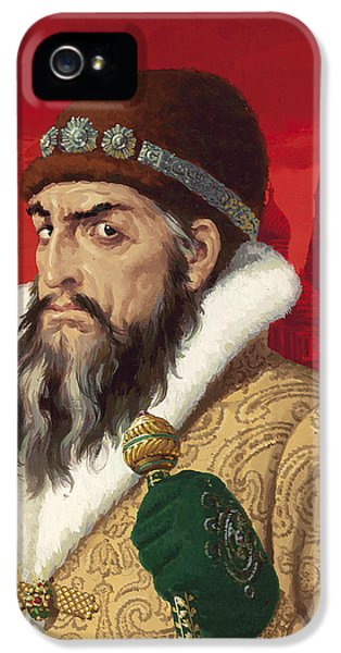Ivan The Terrible IPhone 5s Case by English School