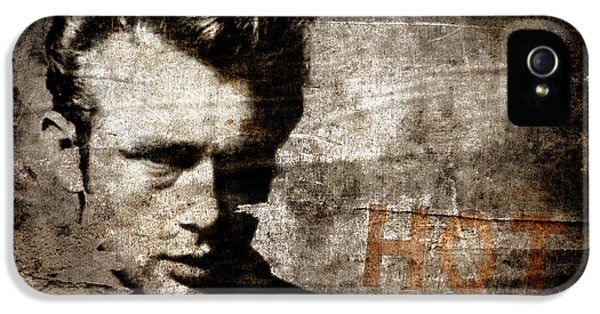 James Dean Hot IPhone 5s Case by Carol Leigh