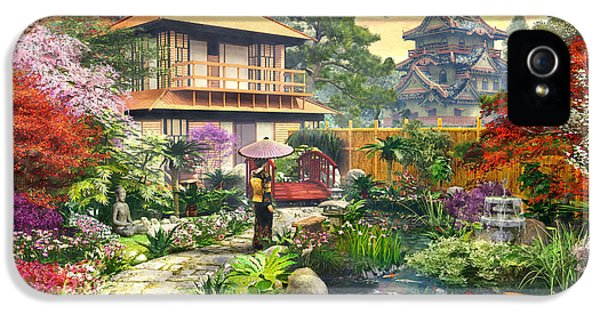 Japan Garden Variant 2 IPhone 5s Case by Dominic Davison