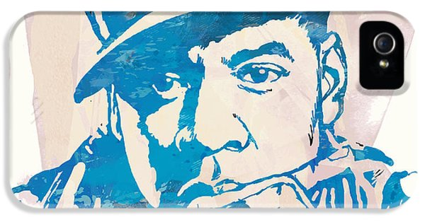Jay-z  Etching Pop Art Poster IPhone 5s Case by Kim Wang