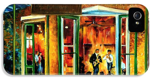 Jazz iPhone 5s Case - Jazz At The Maison Bourbon by Diane Millsap