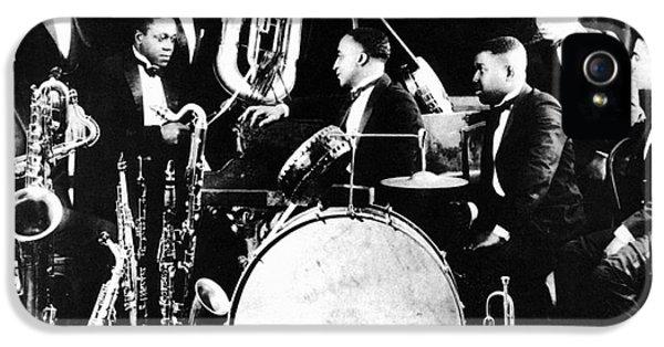 Harlem iPhone 5s Case - Jazz Musicians, C1925 by Granger