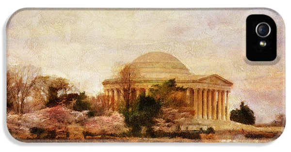 Jefferson Memorial Just Past Dawn IPhone 5s Case