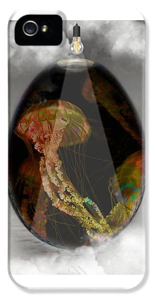 Jellyfish Art IPhone 5s Case by Marvin Blaine