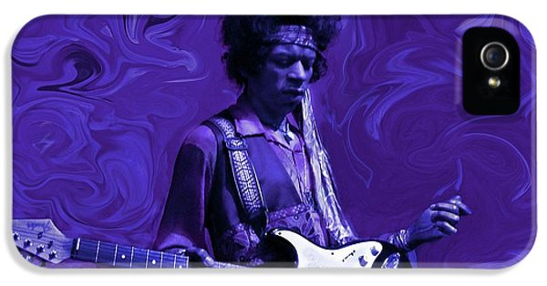 Jimi Hendrix Purple Haze IPhone 5s Case