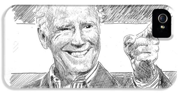 Joe Biden IPhone 5s Case by Shawn Vincelette