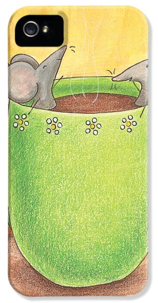 Join Me In A Cup Of Coffee IPhone 5s Case by Christy Beckwith
