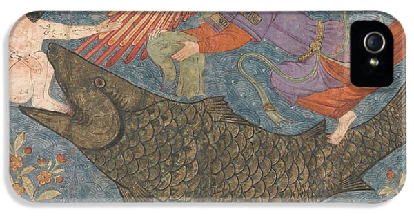 Jonah And The Whale IPhone 5s Case by Iranian School