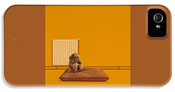 Dog iPhone 5s Case - Jonas by Jasper Oostland