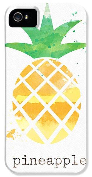 Juicy Pineapple IPhone 5s Case by Linda Woods