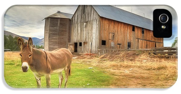 Just Another Day On The Farm IPhone 5s Case
