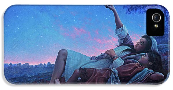 Planets iPhone 5s Case - Just For A Moment by Greg Olsen