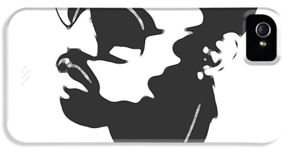 Kanye West Silhouette IPhone 5s Case