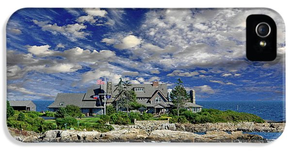 Kennebunkport, Maine - Walker's Point IPhone 5s Case by Russ Harris