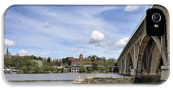 Key Bridge Into Georgetown IPhone 5s Case by Brendan Reals