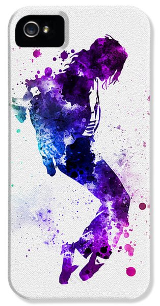 King Of Pop IPhone 5s Case by Rebecca Jenkins