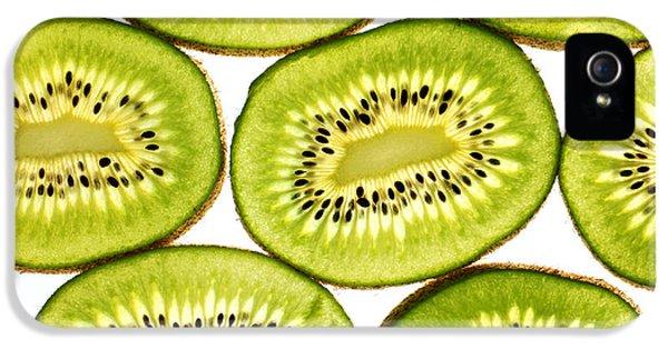 Kiwi Fruit II IPhone 5s Case by Paul Ge