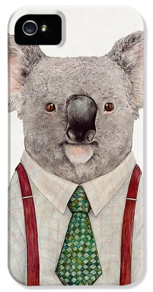 Portraits iPhone 5s Case - Koala by Animal Crew