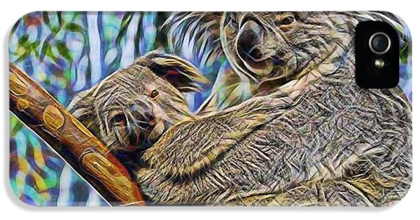 Koala Bear Mom And Child IPhone 5s Case