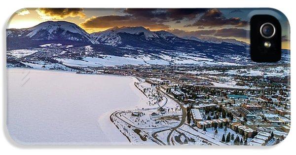 Lake Dillon Sunset IPhone 5s Case by Sebastian Musial