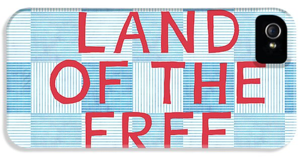 Landmarks iPhone 5s Case - Land Of The Free by Linda Woods