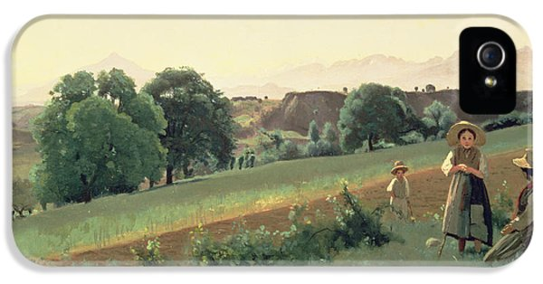Landscape At Mornex IPhone 5s Case by Jean Baptiste Corot