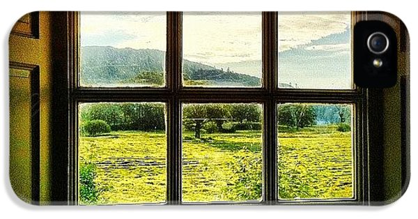 Beautiful iPhone 5s Case - #landscape #window #beautiful #trees by Samuel Gunnell