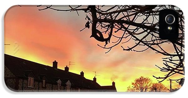 Sky iPhone 5s Case - Last Night's Sunset From Our Cottage by John Edwards