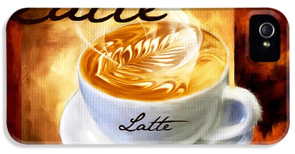 Latte IPhone 5s Case by Lourry Legarde