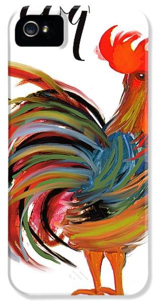 Le Coq Art Nouveau Rooster IPhone 5s Case